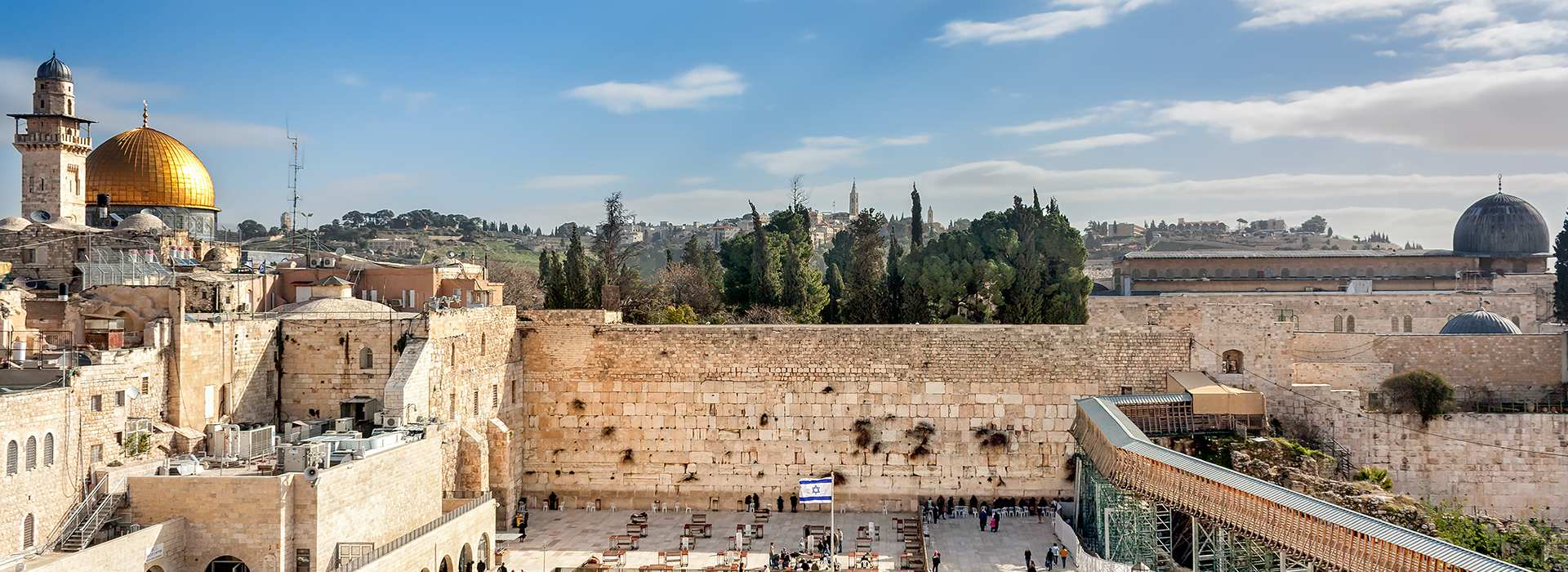 learn hebrew western wall